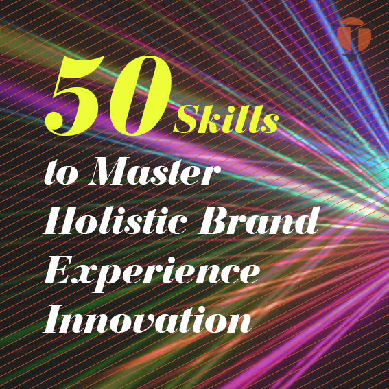 holistic brand experience innovation by Justin Tsui
