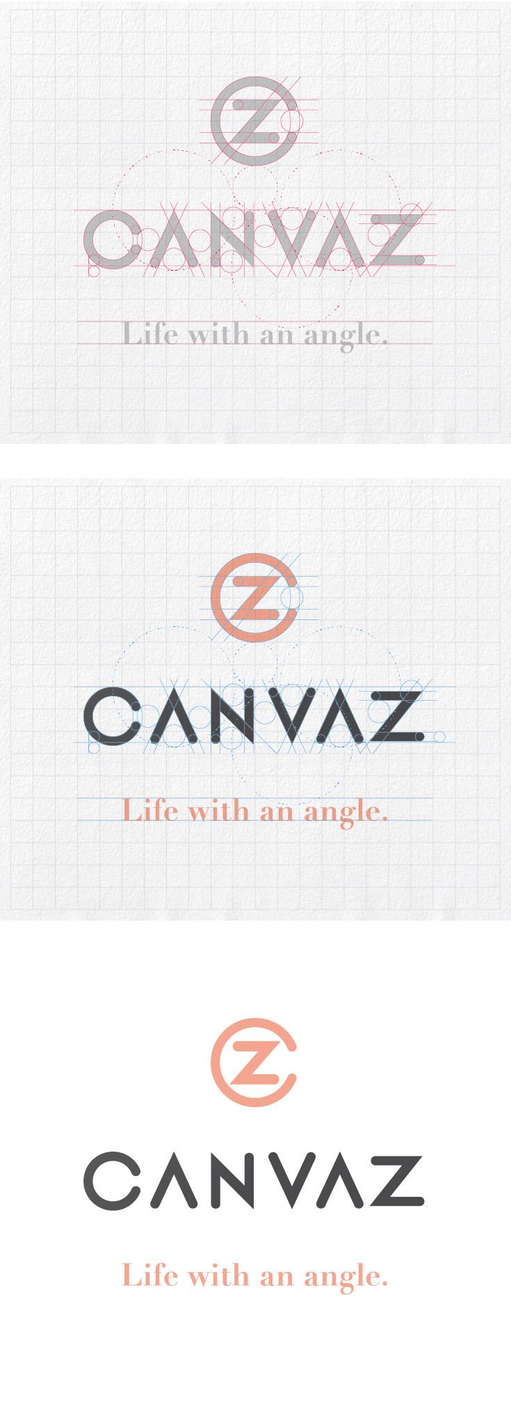 Canvaz Brand Identity Design & Strategy