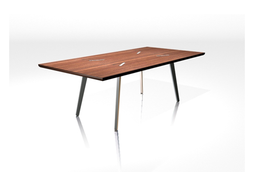 simple L dinning table by Justin Tsui