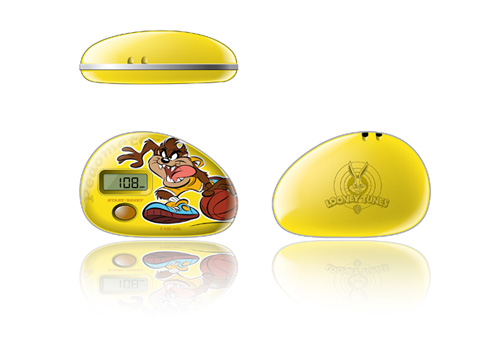looney tunes consumer electronics design by Justin Tsui