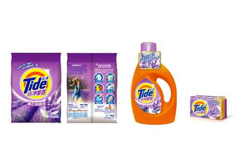 Tide disruptive new product extension across 3 forms in China