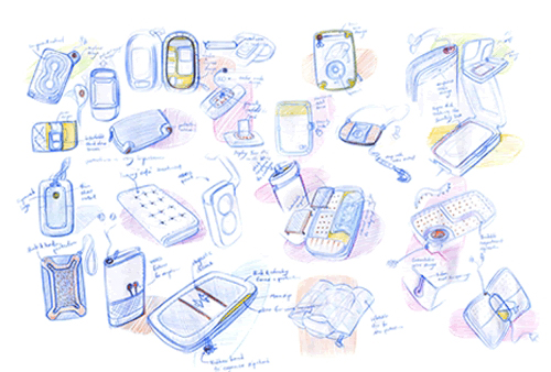 travel case design for iphone