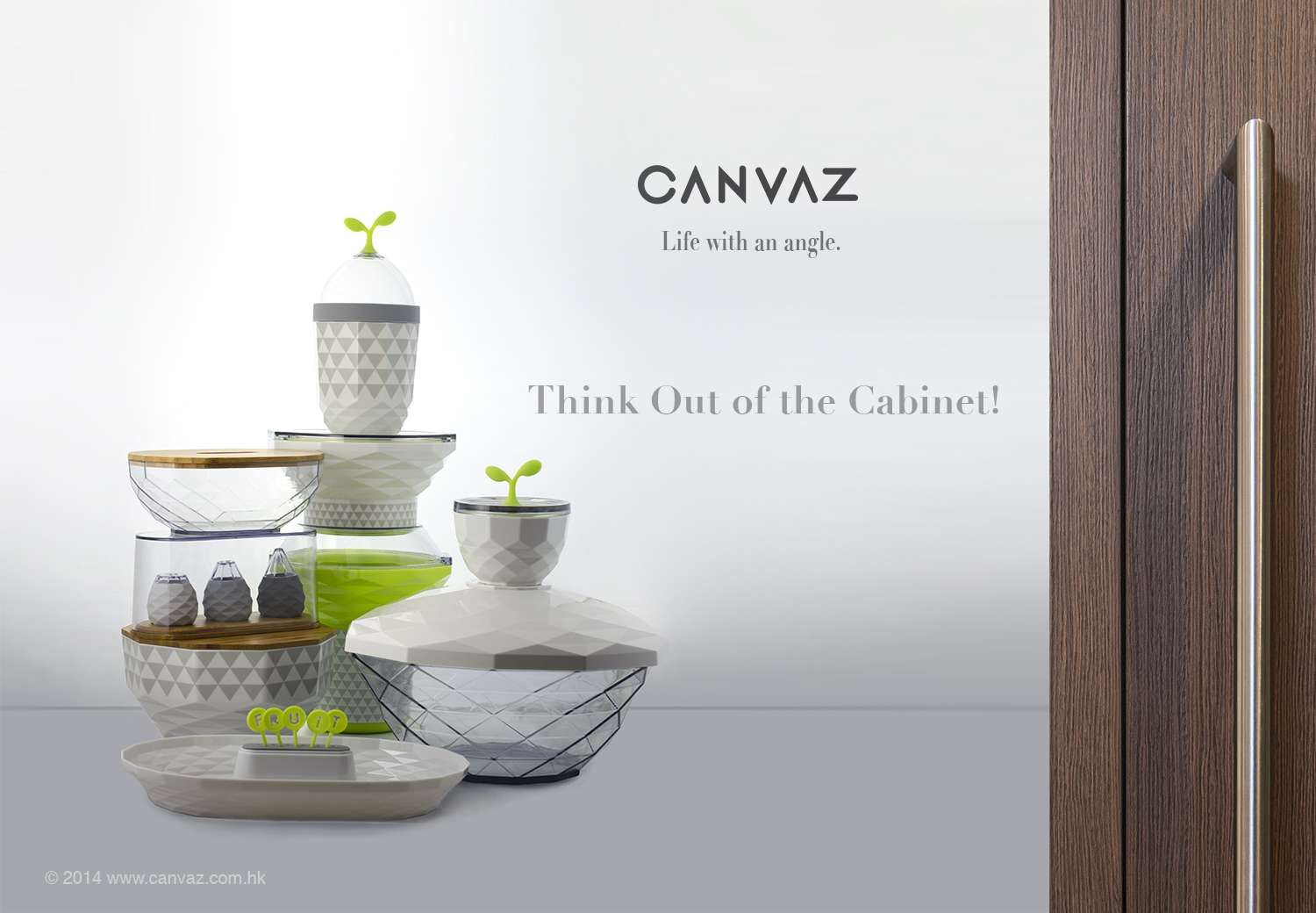 holistic innovation - Canvaz housewares collection by Justin Tsui - Artefactx