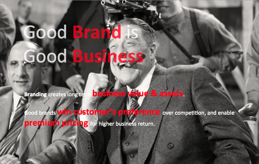 good brand is good business