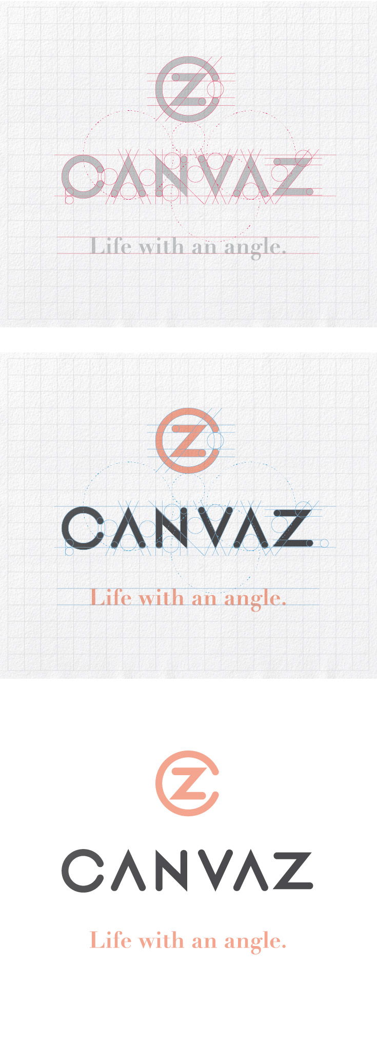 Canvaz Brand Identity Design by Justin Tsui