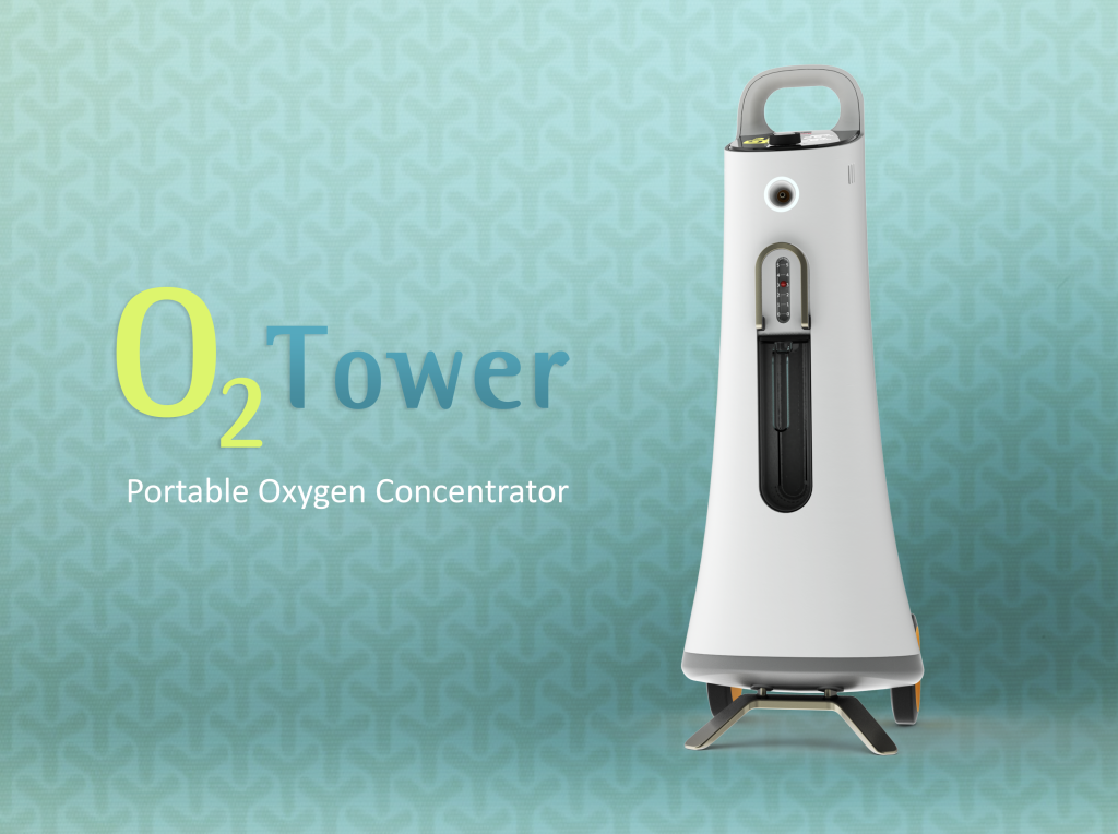 Yuwell O2 Tower front A